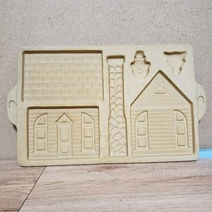 Pampered Chef Family Heritage Gingerbread Mold